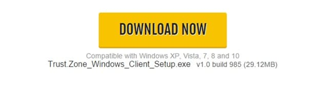 Trust.Zone Windows 8 Client Setup Step 1