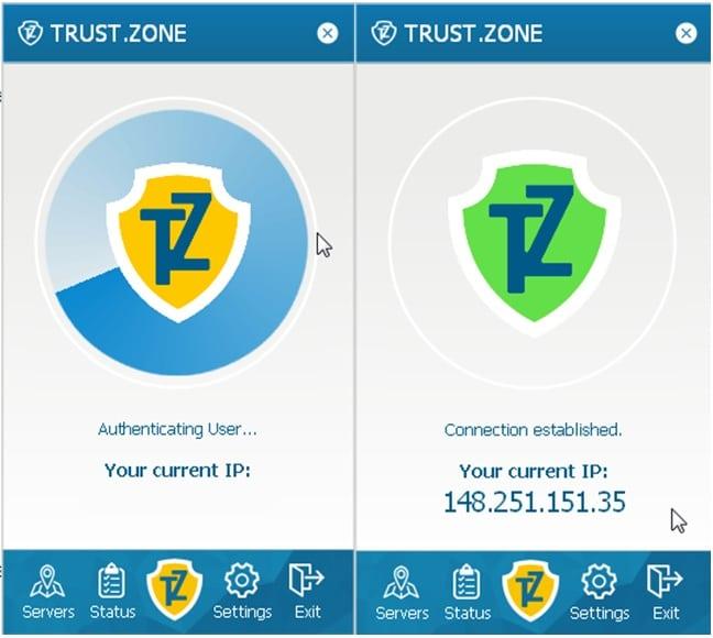 Trust.Zone Windows 8 Client Setup Step 11