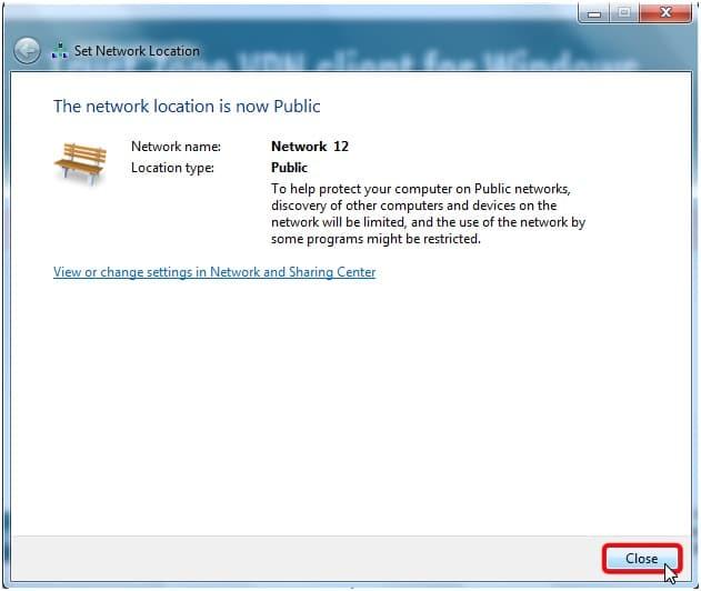 Trust.Zone Windows 8 Client Setup Step 8