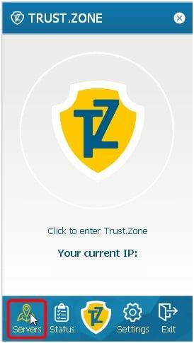 Trust.Zone Windows 8 Client Setup Step 9