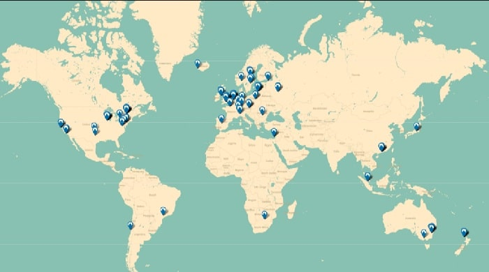 NordVPN Server Locations