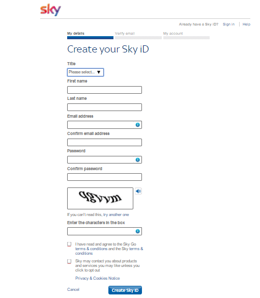 How to watch skygo outside the UK