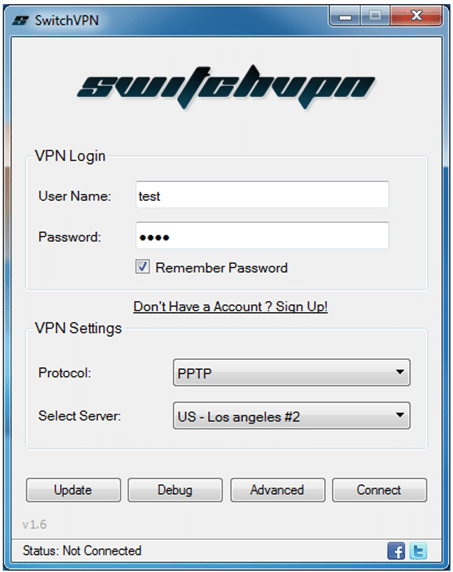 switchvpn windows client