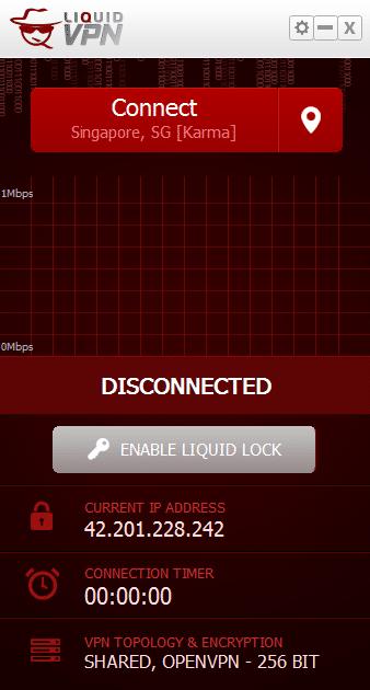 LiquidVPN setup
