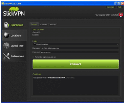slickvpn windows client