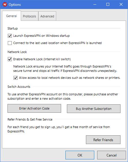 expressvpn network