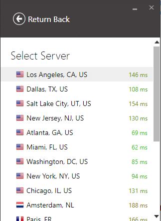 IVPN servers