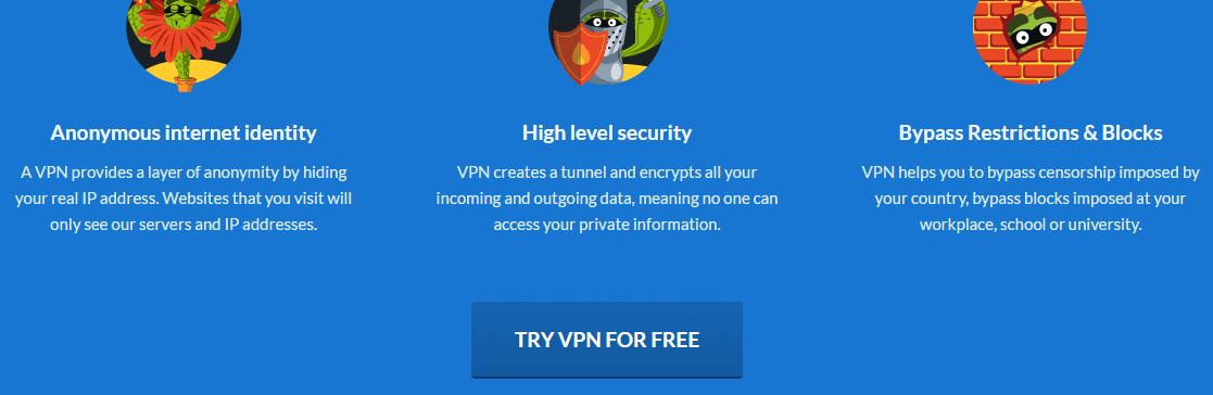 Cactus VPN Free Trial