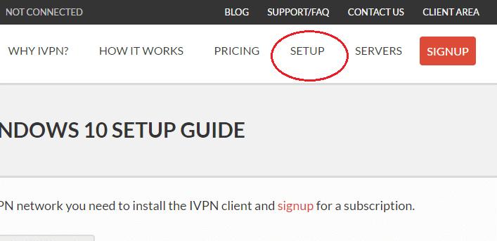 IVPN Set Up