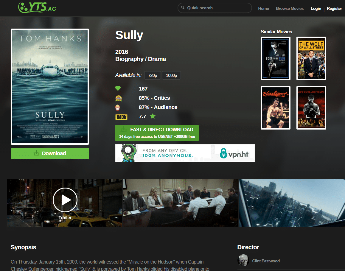 movie torrent websites list