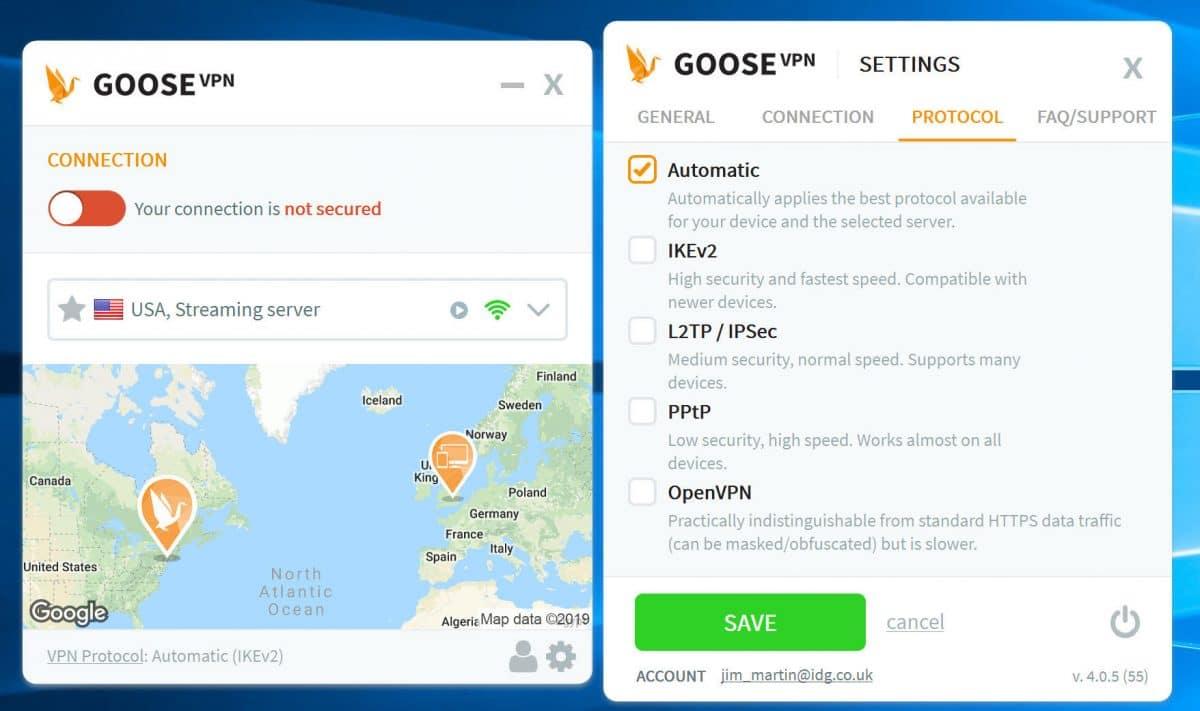 GooseVPN App