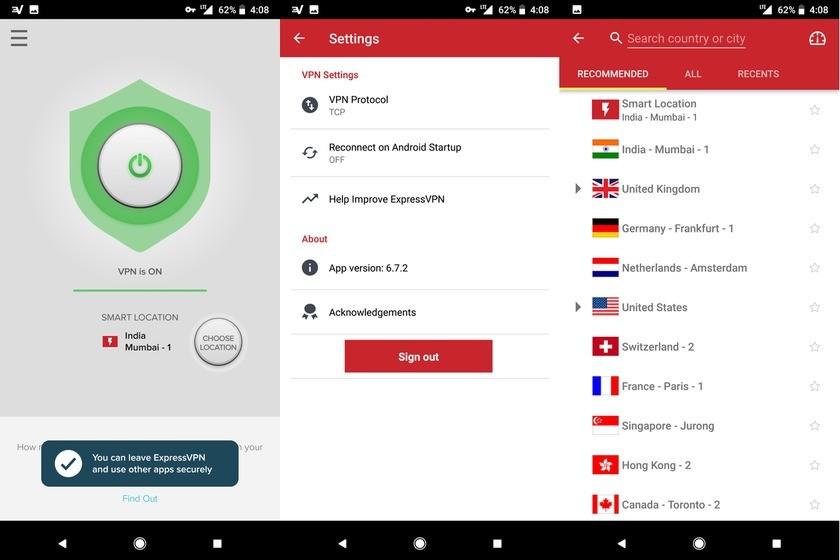 ExpressVPN App